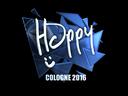 Sticker | Happy (Foil) | Cologne 2016