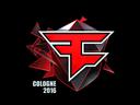 Sticker | FaZe Clan (Foil) | Cologne 2016