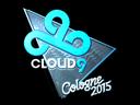Sticker   Cloud9 G2A (Foil)   Cologne 2015