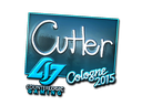 Sticker | reltuC (Foil) | Cologne 2015