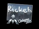 Sticker | Rickeh (Foil) | Cologne 2015