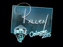 Sticker   rallen (Foil)   Cologne 2015