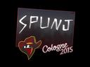 Sticker | SPUNJ | Cologne 2015