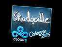 Sticker | Skadoodle (Foil) | Cologne 2015