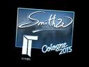 Sticker   SmithZz (Foil)   Cologne 2015