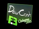 Sticker   DavCost   Cologne 2015