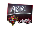 Sticker | AZR (Foil) | Cologne 2015