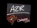 Sticker | AZR | Cologne 2015