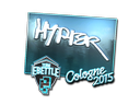 Sticker | Hyper (Foil) | Cologne 2015