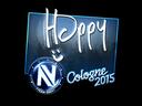 Sticker | Happy (Foil) | Cologne 2015