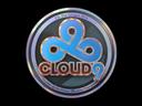 Sticker | Cloud9 (Holo) | Cologne 2014