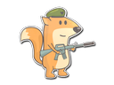 Sticker   Doru The Fox