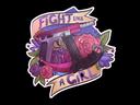 Sticker | Fight like a Girl