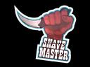 Sticker   Shave Master