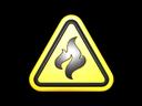 Sticker | Flammable (Foil)