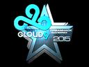 Sticker   Cloud9 (Foil)   Cluj-Napoca 2015