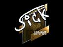 Sticker | SicK (Foil) | Boston 2018