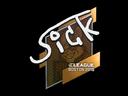 Sticker | SicK | Boston 2018