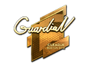 Sticker | GuardiaN (Gold) | Boston 2018