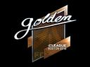 Sticker   Golden (Foil)   Boston 2018
