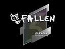 Sticker | FalleN | Boston 2018