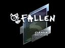 Sticker | FalleN (Foil) | Boston 2018