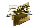 Sticker | EliGE (Gold) | Boston 2018