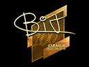 Sticker | BIT (Gold) | Boston 2018