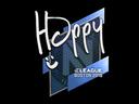 Sticker | Happy | Boston 2018