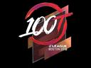 Sticker | 100 Thieves (Holo) | Boston 2018
