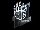 Sticker | BIG (Foil) | Boston 2018