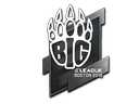 Sticker | BIG | Boston 2018