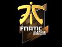 Sticker | Fnatic (Foil) | Boston 2018