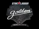 Sticker   Golden   Berlin 2019