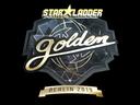 Sticker | Golden (Gold) | Berlin 2019