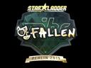 Sticker | FalleN (Gold) | Berlin 2019
