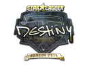 Sticker | DeStiNy (Gold) | Berlin 2019