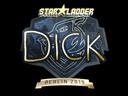 Sticker | DickStacy (Gold) | Berlin 2019