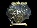 Sticker | ALEX (Gold) | Berlin 2019
