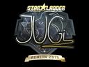 Sticker   JUGi (Gold)   Berlin 2019