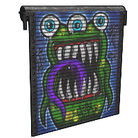 Monster Garage Door
