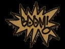 Sealed Graffiti | BOOM (Desert Amber)