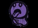Sealed Graffiti | Choke (Monster Purple)