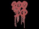 Sealed Graffiti | 200 IQ (Blood Red)