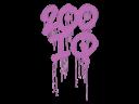 Sealed Graffiti | 200 IQ (Bazooka Pink)