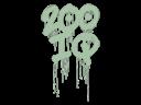 Sealed Graffiti   200 IQ (Cash Green)