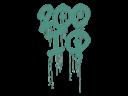 Sealed Graffiti | 200 IQ (Frog Green)