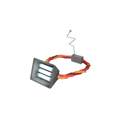 Unusual Halogen Head Lamp Searing Plasma