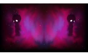 Seen Nebula Red