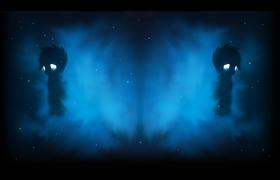 Seen Nebula Blue